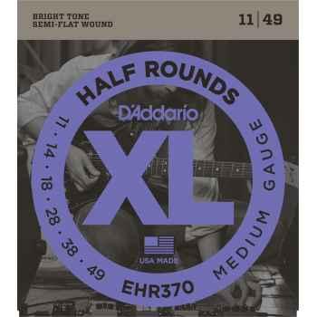 D´addario EHR370 Half Rounds Medium Cuerdas para Guitarra Eléctrica